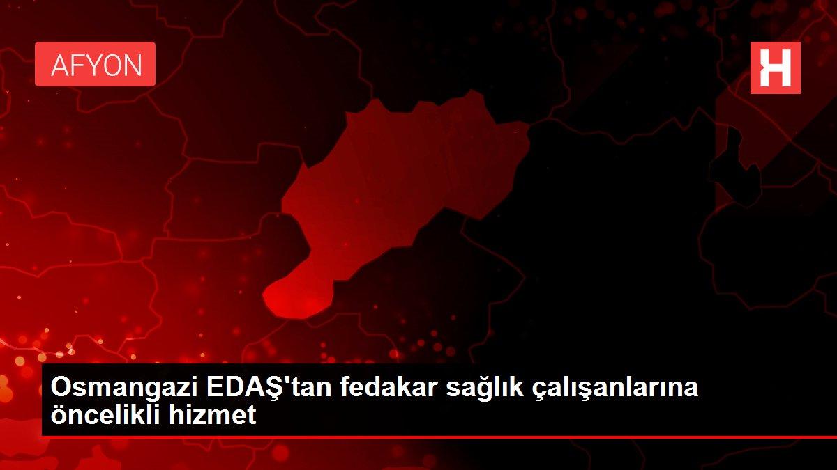 Osmangazi EDAŞ'tan salgın döneminde sağlık çalışanlarına öncelikli hizmet