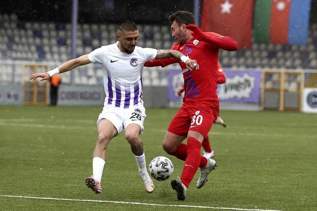 TFF 1. Lig: Ankara Keçiörengücü: 5 Altınordu: 3