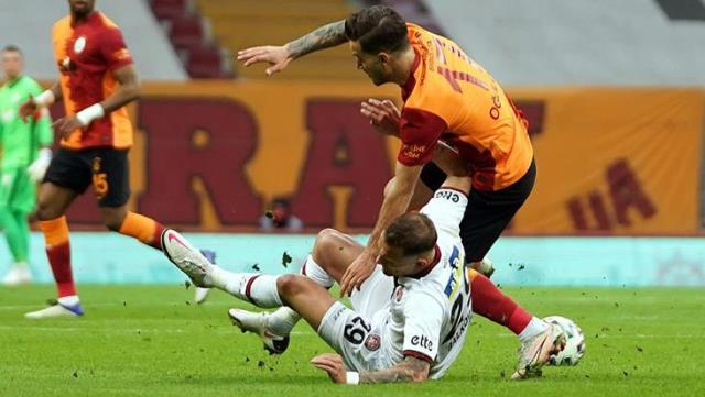Aslan took a big wound on the way to the championship!  Galatasaray drew 1-1 with Karagümrük on the field