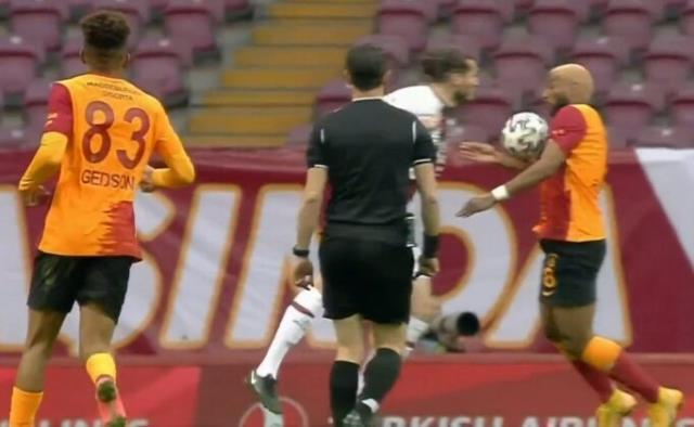 The goal that Galatasaray scored against Karagümrük was caught in VAR