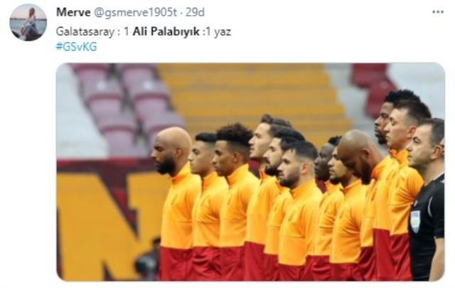 Galatasaray fans heavily criticized Ali Palabıyık, referee of Karagümrük match