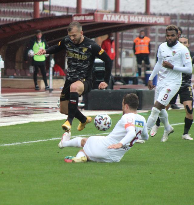 Göztepeli Jahovic demolished Hatay, the league's fit team, alone at home