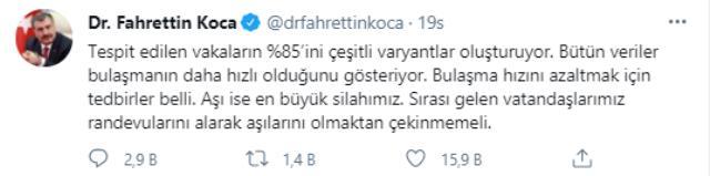 İstanbul'da sırası gelen 250 bin kişinin aşı yaptırmadığı ortaya çıktı