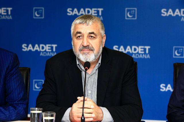 M. Çelebi Keyhıdır, SP Adana İl Başkanlığına adaylığını açıkladı