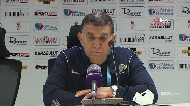 Mustafa Ati Göksu: 'Biz 3. golü attık, çizgiyi geçti ama hakem görmedi'
