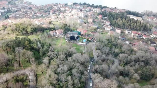 Sedat Peker'in villasına yapılan baskında 'Branda' detayı dikkatlerden kaçmadı