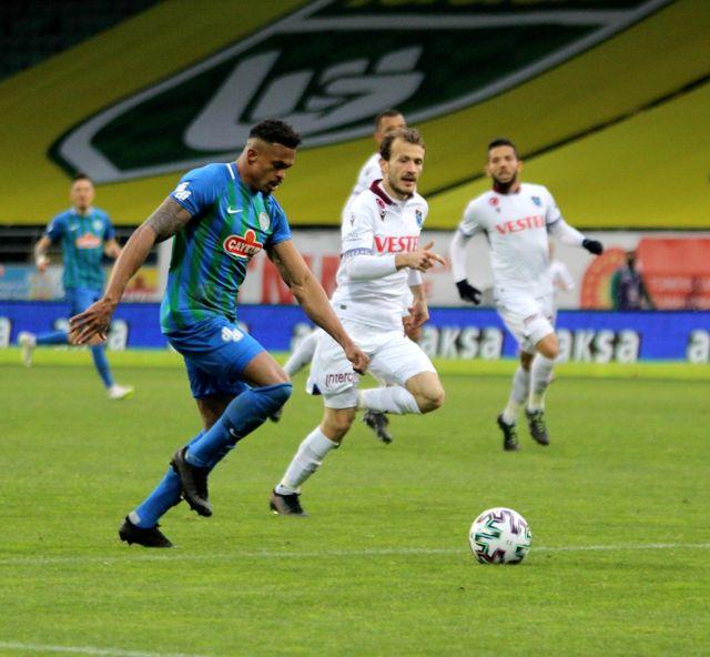 Süper Lig: Çaykur Rizespor: 0 Trabzonspor: 0 (Maç sonucu)
