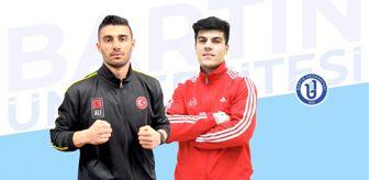 Hasan Engin: Bartın Üniversitesi'nin milli sporcuları Avrupa Kupası'nda 2 madalya kazandılar
