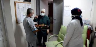 Yusuf Kılıç: İlk çilekler sağlıkçılara