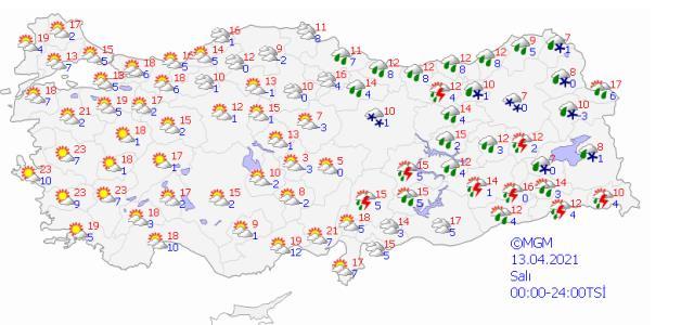 Meteoroloji gün verip uyardı! Şemsiyeleri hazırlayın, kuvvetli yağış geliyor
