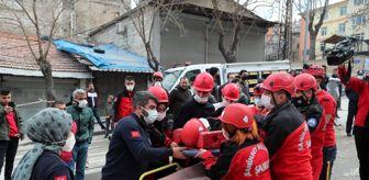 Gaziantep: ŞAHKUT'tan gerçeği aratmayan deprem tatbikatı