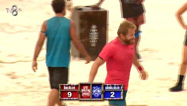 Survivor 11 Nisan Dokunulmazlık oyununu hangi takım kazandı? Survivor Dokunulmazlık kim kazandı? Ünlüler mi kazandı Gönüllüler mi?