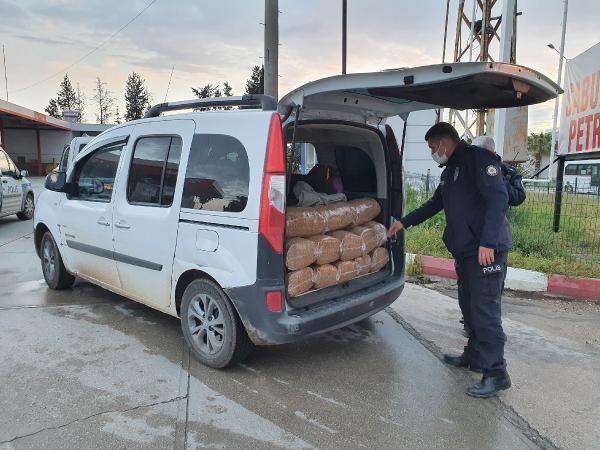 Adana'da 500 kilo kaçak tütün ele geçirildi