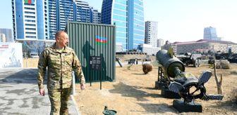 İskender: Aliyev, Askeri Ganimet Parkı'nın açılışını yaptıErmenistan ordusundan ele geçirilen askeri araçlar sergilenecek
