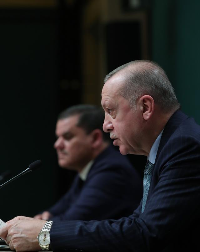 Cumhurbaşkanı Erdoğan: Kader birliği yaptığımız Libya'ya 150 bin doz aşı gönderiyoruz