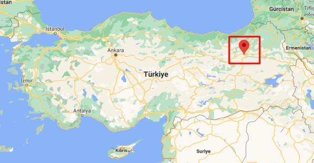 Ilıca nerede? Ilıca Türkiye'de nerede bulunuyor, neresi? Erzurum Ilıca haritadaki yeri!