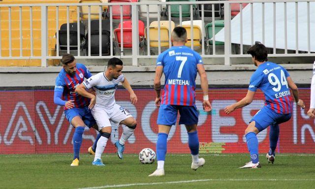 TFF 1. Lig: Altınordu: 0 Adana Demirspor: 1 (İlk Yarı)