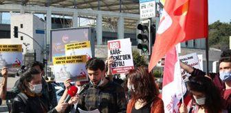 Dolmabahçe Sarayı: Son dakika haber: ABD SAVAŞ GEMİLERİNİN BOĞAZ'DAN GEÇİŞİNE PROTESTO