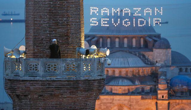 Ayasofya Camii'nde 87 yıl sonra ilk iftar ezanı okundu 5 – ayasofya camii nde 87 yil sonra ilk iftar ezani 14064303 295 o