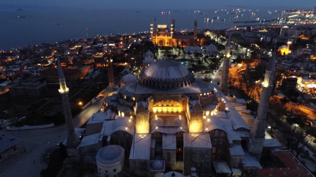 Ayasofya Camii'nde 87 yıl sonra ilk iftar ezanı okundu 4 – ayasofya camii nde 87 yil sonra ilk iftar ezani 14064303 6268 m