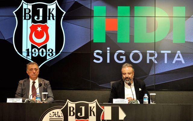 Beşiktaş Kulübü, HDI Sigorta ile yeni iş birliği anlaşması yaptı