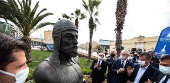 Selahattin Şahin: İlk Türk denizcilerinden Çaka Bey'in büstü açıldı