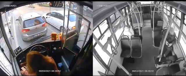 Manisa'nın tek kadın halk otobüsü şoförünün haksız yere işten çıkarıldığı iddiası