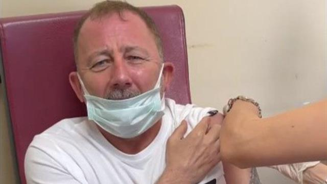 Funny reactions of Sergen Yalçın, who had the vaccine, shook the social media