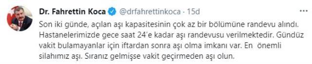 Son Dakika: Türkiye'de 15 Nisan günü koronavirüs nedeniyle 297 kişi vefat 61 bin 400 yeni vaka tespit edildi