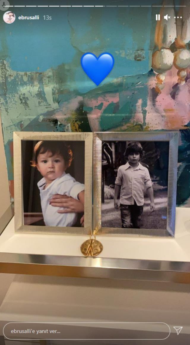 Bir yıl önce oğlu vefat eden Ebru Şallı'dan yürek yakan sözler: Meleklerin öldüğüne şahit oldum
