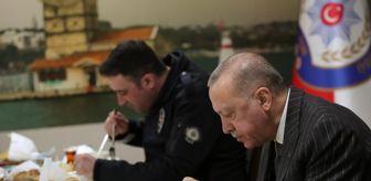 Vahdettin Köşkü: Cumhurbaşkanı Erdoğan'dan Çengelköy Polis Merkezi'ne iftar ziyareti