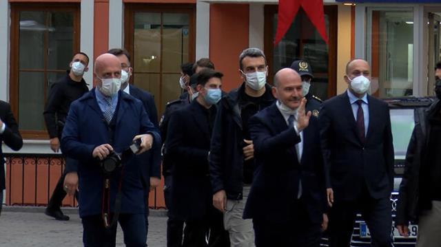 Cumhurbaşkanı Erdoğan ve Bakan Soylu, Çengelköy Polis Merkezi'nde iftar yaptı