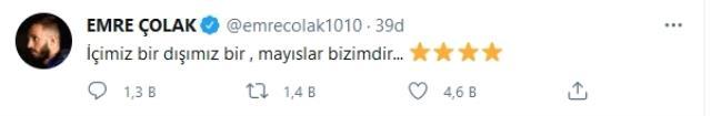 Galatasaray paylaşımı yapan Emre Çolak'ın Karagümrük'le yolları ayrıldı