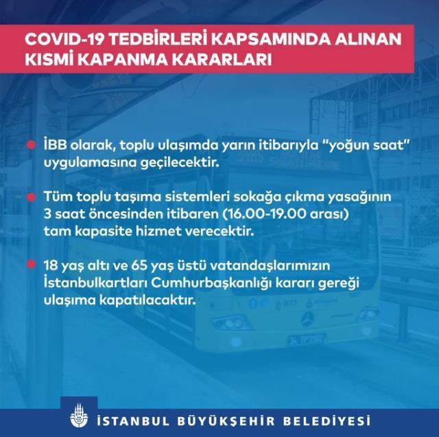 İETT, otobüs, metro, metrobüs güncel saatleri! İstanbul Toplu taşıma saatleri! Yoğun saat uygulaması nedir?