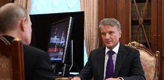 Beyaz Saray: Rus Sberbank Başkanı: ABD yaptırımının ekonomimize ciddi etkisi yok