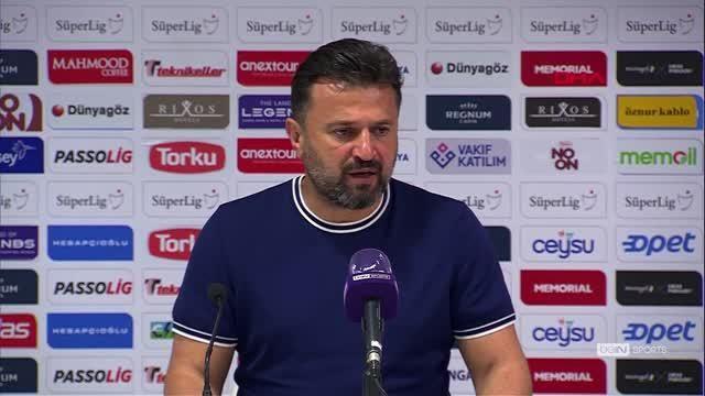 SPOR Fraport TAV Antalyaspor - Çaykur Rizespor maçının ardından