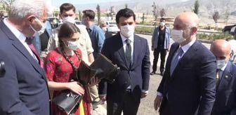 Kanuni Sultan Süleyman: Bakan Karaismailoğlu, Hasankeyf'te incelemelerde bulundu