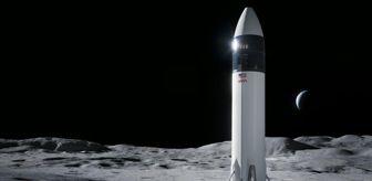 Amazon: NASA'nın Ay'a astronot indirecek uzay aracını SpaceX yapacak