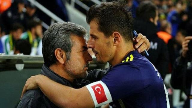 Sincere statement from Emre Belözoğlu: Feelings are not easy at all.  Aykut hoca is our legend and we made a fate together
