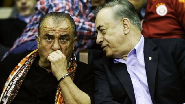 'Do you have any problems with Fatih Terim?'  Mustafa Cengiz replied, 'No, we are meeting tomorrow'.