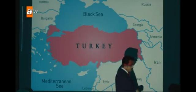Final kararı alan Akıncı dizisindeki harita detayı, Azerileri kızdırdı