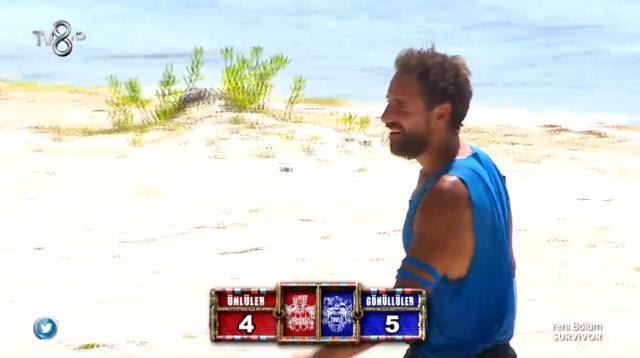 Survivor 18 Nisan Dokunulmazlık oyununu hangi takım kazandı? Survivor Dokunulmazlık kim kazandı? Ünlüler mi kazandı Gönüllüler mi?