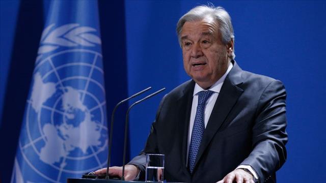 BM Genel Sekreteri Guterres: Uçurumun eşiğindeyiz