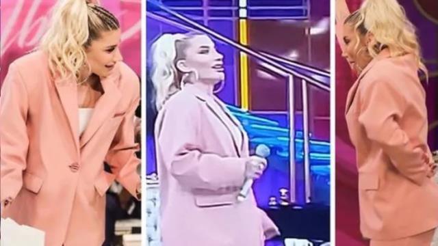 İrem Derici'nin İbo Show'da giydiği ve sosyal medyada günde olan kıyafetin fiyatı ortaya çıktı