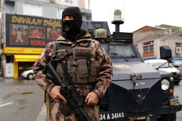 İstanbul Okmeydanı'nda giriş ve çıkışlar kapatıldı! Araçlar didik didik aranıyor