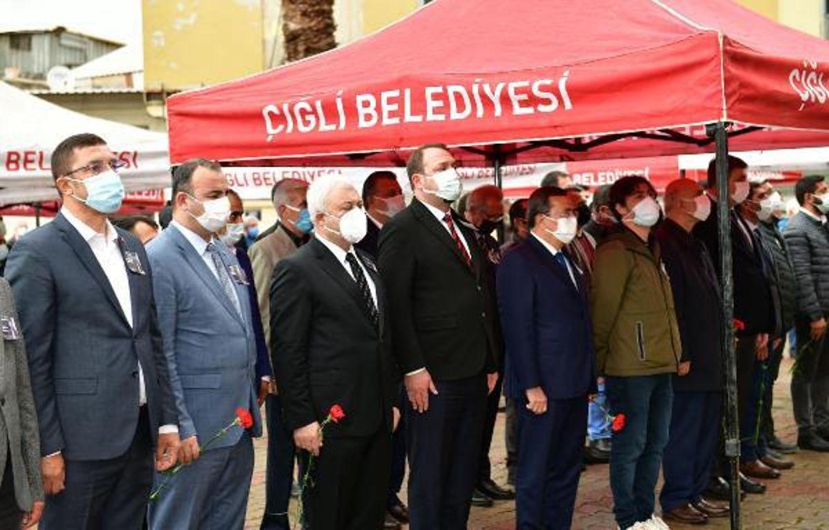 Koronavirüsten ölen Çiğli Belediye Başkan Yardımcısı, toprağa verildi