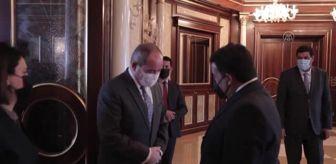 Süleyman Soylu: Libya Başkanlık Konseyi Başkanı Menfi, Cezayir heyeti ile ikili ilişkileri görüştü