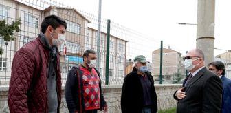 Levent Olgun: Mahalle mahalle geziyor, halkın sorun ve taleplerini dinliyor