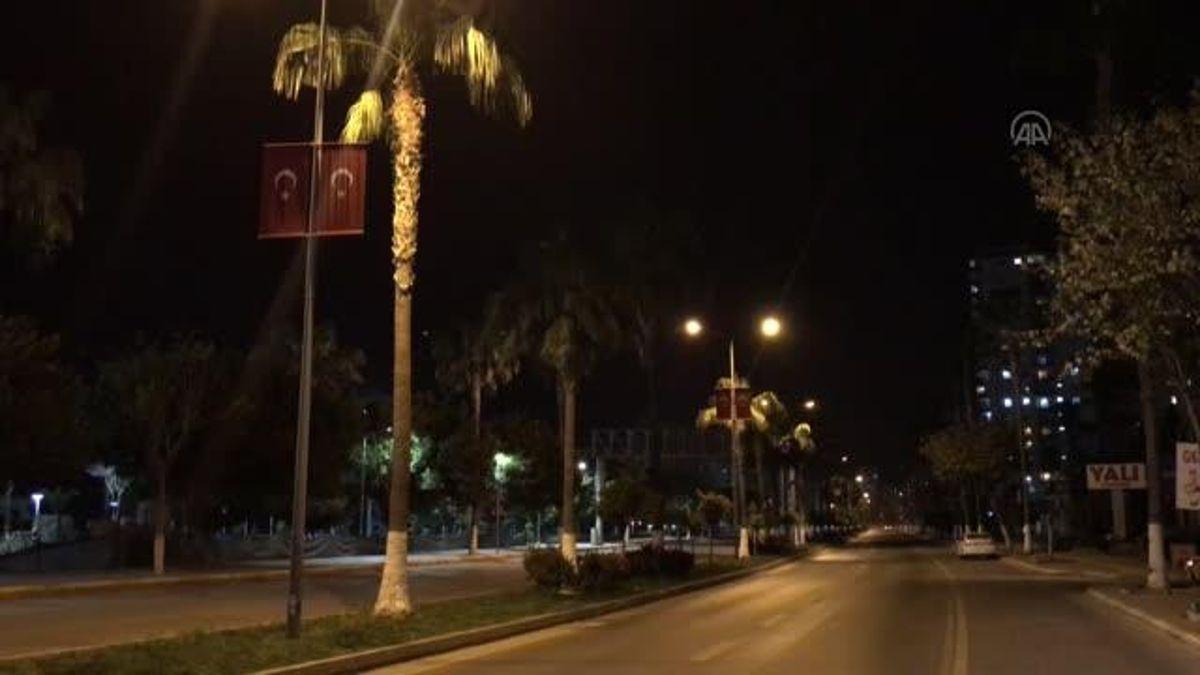 Sokağa çıkma kısıtlamasında cadde ve sokaklar boş kaldı - Haberler - Haber  Ofisi