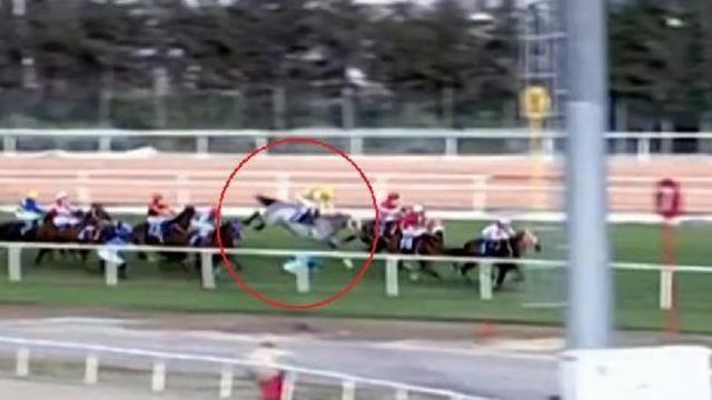 Adana'daki at yarışlarında feci bir kaza daha: 4 jokey düştü, 3'ü hastaneye kaldırıldı